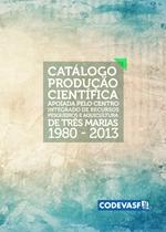 Capa - Catálogo da produção científica apoiada pelo Centro Integrado de Recursos Pesqueiros e Aquicultura de Três Marias - 2015