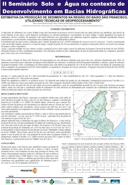 Estimativa da Produção de Sedimentos na Região do Baixo São Francisco Utilizando Técnicas de Geoprocessamento.jpg