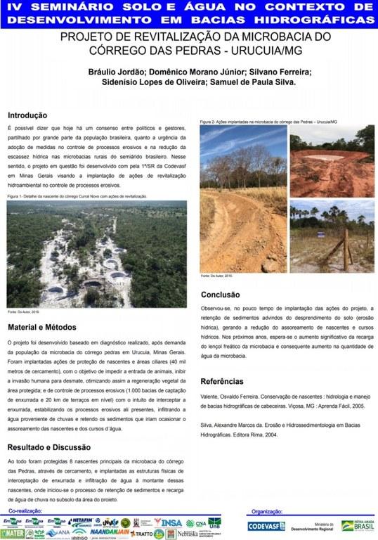 11 - Projeto de revitalização da microbacia do Córrego das Pedras – UrucuiaMG.JPG
