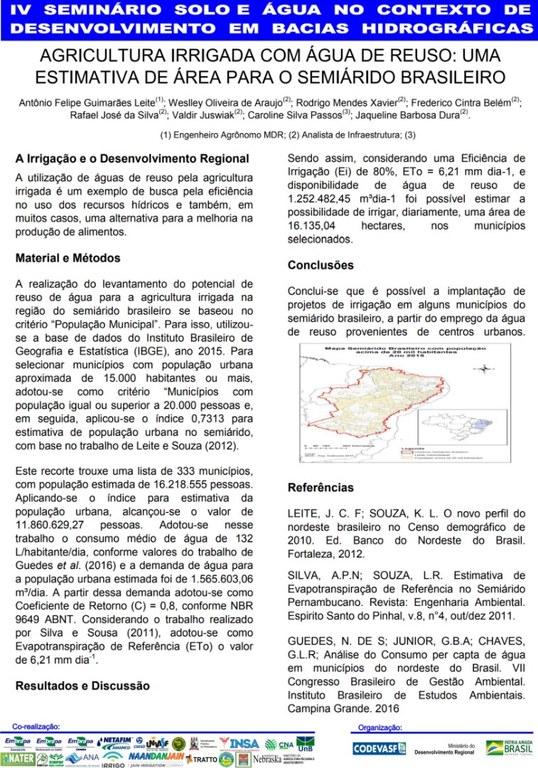 8 - Agricultura irrigada com água de reúso uma estimativa de área para o seminário brasileiro.JPG