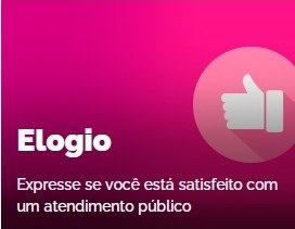 Elogio: Expresse se você está satisfeito com um atendimento público