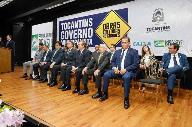 Cerimônia Alusiva à Visita do Presidente da República ao Estado do Tocantins. Foto: Isac Nóbrega/PR