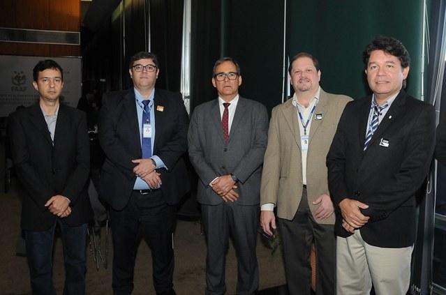 Diretores e técnicos da Codevasf participam do lançamento da Frente Parlamentar Mista do Agronegócio e da Agricultura Familiar. Foto: José Luiz Oliveira/Codevasf