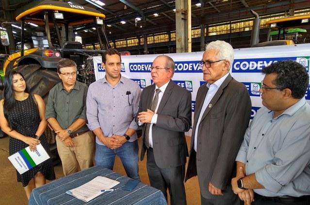 Diretor-presidente da Codevasf acompanha ações da empresa no Maranhão