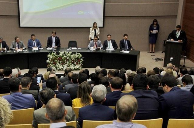 Novo diretor-presidente da Codevasf toma posse em Brasília. Foto: Frederico Celente/Codevasf