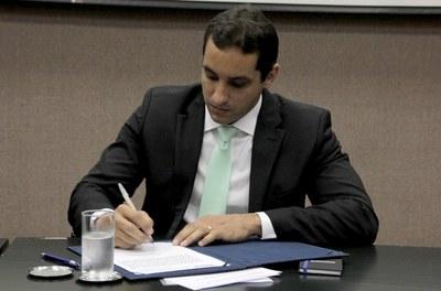 Marcelo Andrade Moreira Pinto toma posse como diretor-presidente da Codevasf. Foto: Frederico Celente/Codevasf.