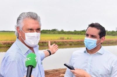 Codevasf anuncia investimentos federais no Projeto de Irrigação de Luiz Alves do Araguaia, em Goiás