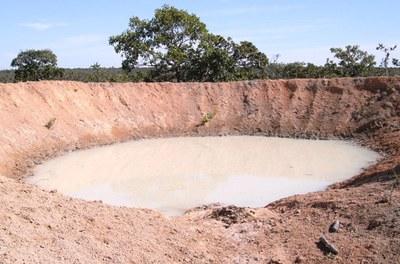Contenção de processos erosivos