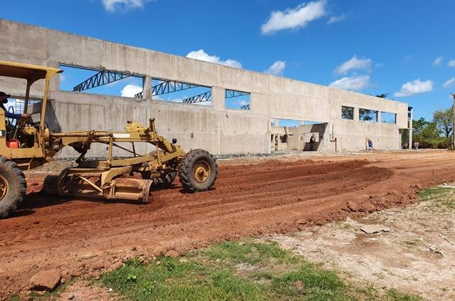 Obra do terminal rodoviário de Altos - PI