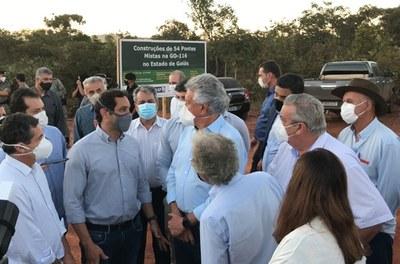 Codevasf inicia instalação de conjunto de 54 pontes em Goiás